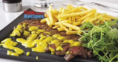 Entrecote Recipe with Antep Sauce