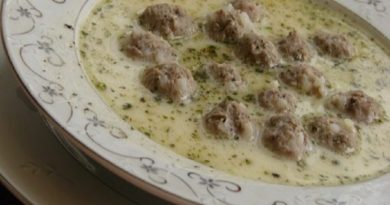Meatball Yogurt Soup Recipe