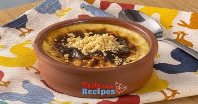 Turkish DEssert Oven Rice Pudding Recipe