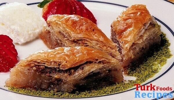 Traditional Turkish Homemade Baklava