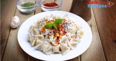 Turkish Homemade Mantı Recipe