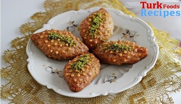 Turkish Kalburabastı Dessert