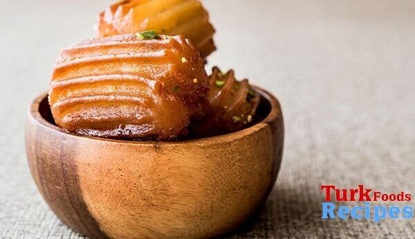 Traditional Turkish Tulumba Dessert