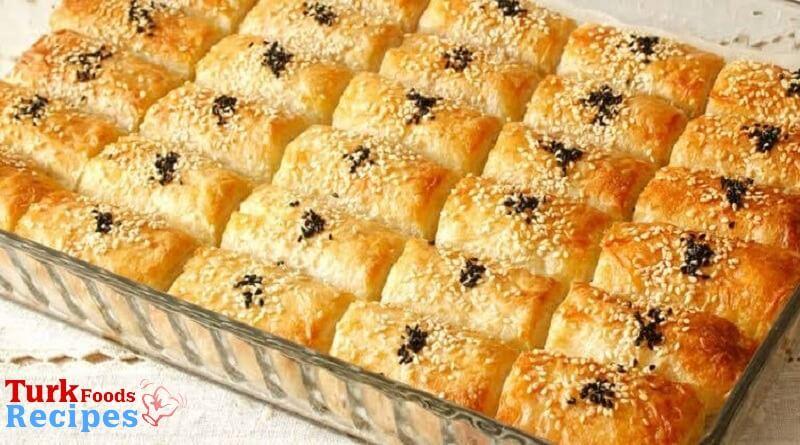 Burrito with Soda Cheese Recipe. Turkish Pastries Recipes. Turkish Recipes