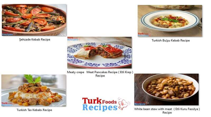 Cubed Meat the Most Delicious 5 best Turkish Foods Recipes