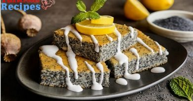Lemon Poppy Seed Easy Cake Recipe