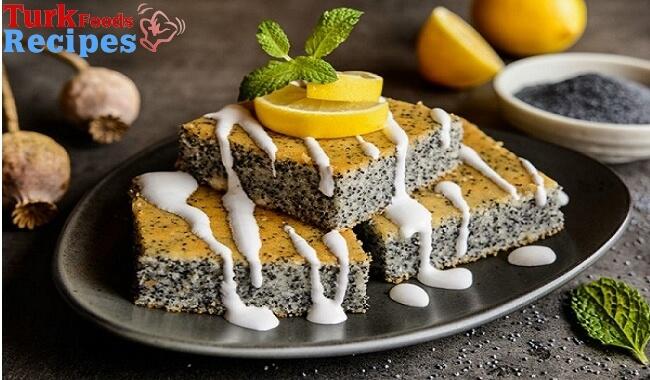 Lemon Poppy Seed Easy Cake Recipe