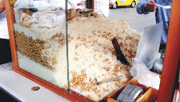 Rice Pilaf with Chickpeas Turkish Street Food