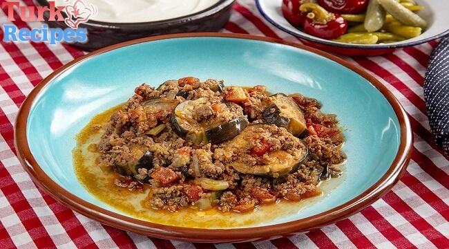 Eggplant Moussaka Recipe, How to make Eggplant Moussaka ? Turkish Food Recipes.