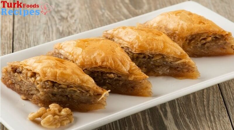 How to make homemade baklava recipe. Turkish Desserts