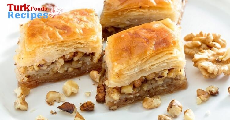 How to make homemade baklava. Turkish Dessert Baklava. Turkish Food Blog. Turkish Recipes.