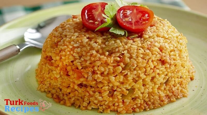 Turkish Bulgur Pilaf Recipe.