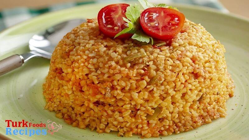 Turkish Bulgur Pilaf Recipe.