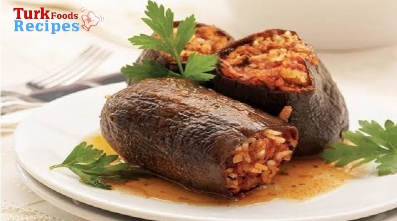 Adana Style Dried Eggplant Stuffed Recipe ,Easy Foods Recipes, Turkish Foods Recipes, Delicious Foods Recipes,