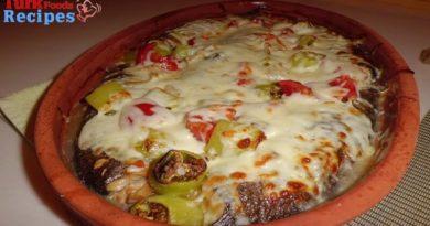 Baked Mushroom and Fish, Turkish Foods Recipes, Easy Foods Recipes, Delicious Foods Recipes