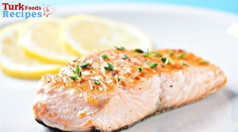 Baked Salmon Recipe. Salmon Recipe. Turkish Food Recipes. Turkish Food Blog. Turkish Recipes.