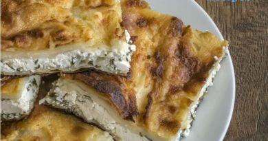 Turkish Cheese Tepsi Patty Recipe (Tepsi Böreği)