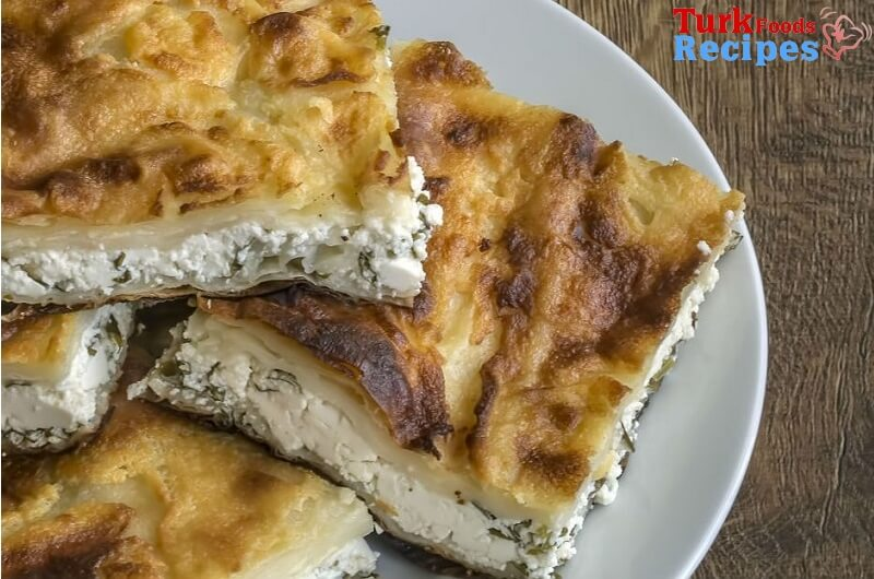 Turkish Cheese Tepsi Patty Recipe (Tepsi Böreği) Turkish Pastries Recipes. Turkish Recipes