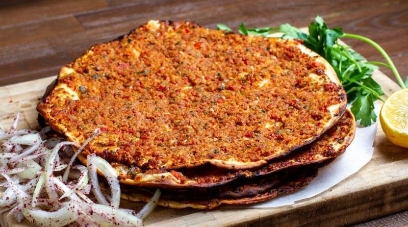 Easy Lahmacun Recipe at Home, How to Make Lahmacun Recipe at Home. Turkish Food Recipes. Turkish Pizza