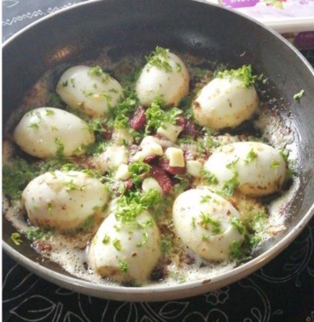 Egg Kapama recipe.  14 Delicious Egg Recipes. Practical  Egg Recipes for Breakfast. Turkish Breakfast