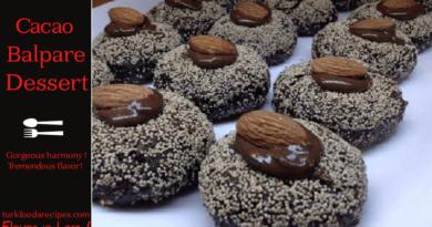 Cacao Balpare Dessert, Turkish Cacao Balpare Dessert How to Make