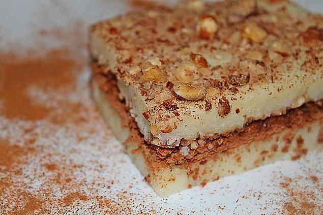 Cinnamon Walnut Dessert Recipe. Turkish Dessert Recipe.