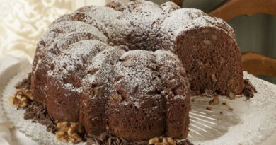 Easy cocoa cake recipe that you can make at home for the memorial day!