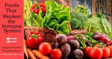 Foods That Weaken the Immune System