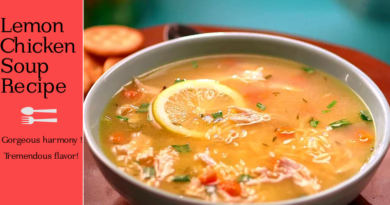 Lemon Chicken Soup Recipe. Turkish Soup Recipe. Healthy Soup