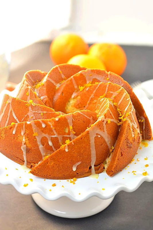 Orange Cake Recipe. Turkish cake recipes. Turkish dessert recipe