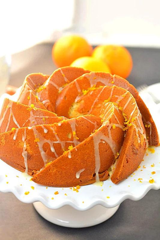 Orange Cake Recipe. Turkish cake recipes. Turkish dessert recipe