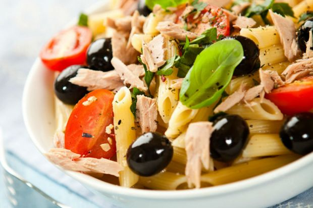 Plenty of ingredients: Pasta with tuna fish. Canned tuna recipes. Turkish recipes. Easy recipes