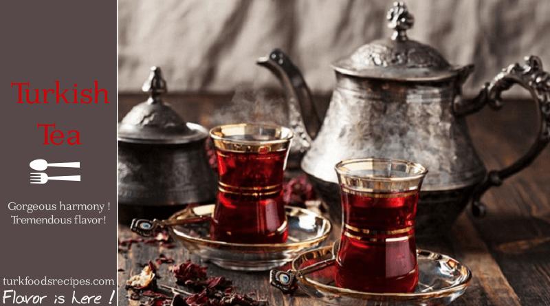 TURKISH TEA HOW TO MAKE TURKISH TEA