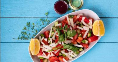Turkish Shepherd Salad Recipe (Çoban Salad)