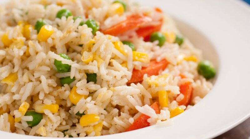 Garnished Rice Recipe, How to make Garnished Rice Recipe. Turkish Pilaf Recipe