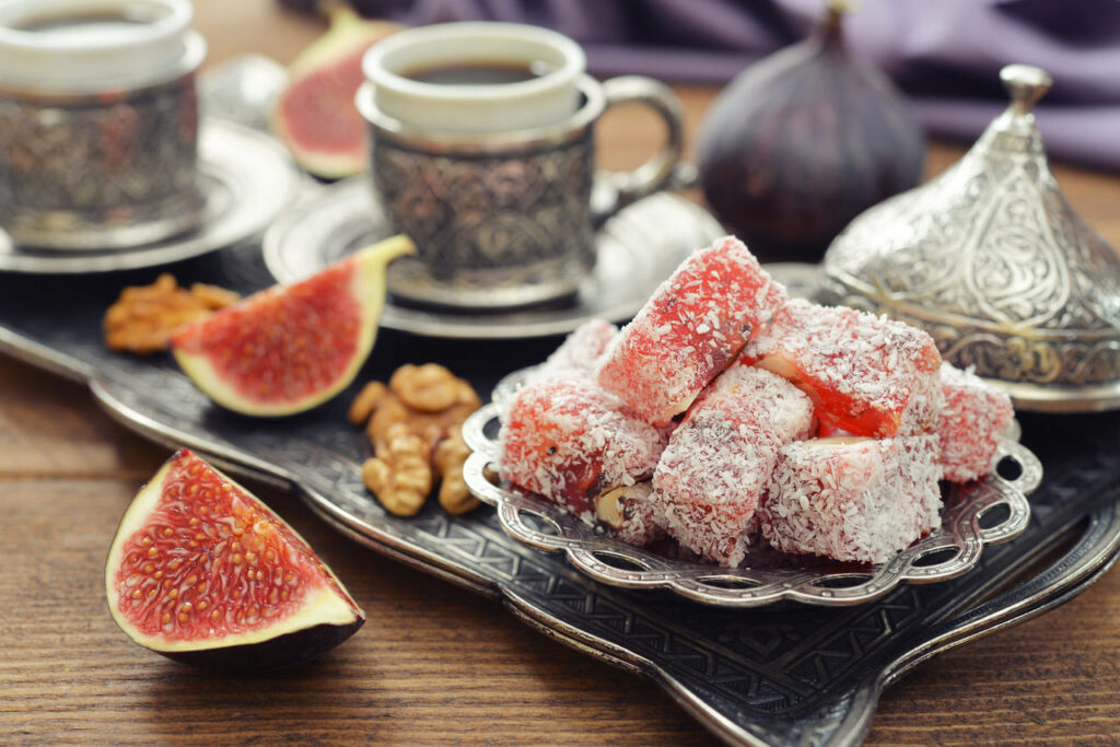 How to Serve Turkish Delight