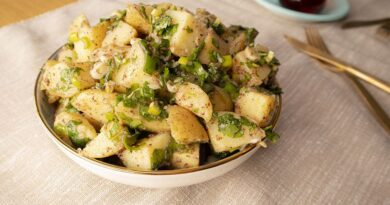 Potato Salad Recipe, How to make potato salad. Turkish Salad appetizer recipe