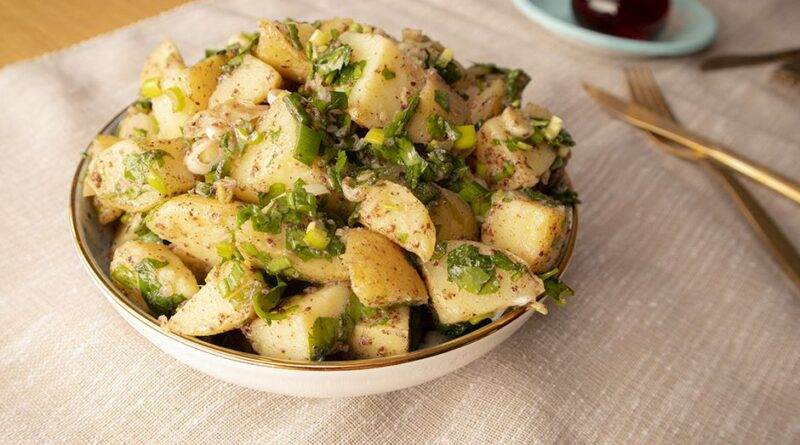 Potato Salad Recipe, How to make potato salad. Turkish Salad appetizer recipe