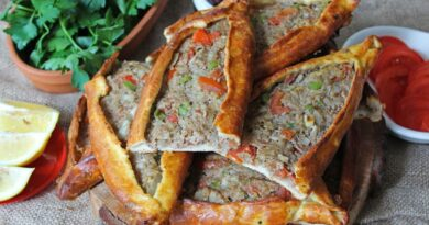 Turkish Mince Pita Recipe