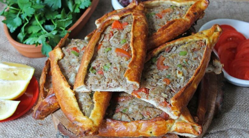 Turkish Mince Pita Recipe