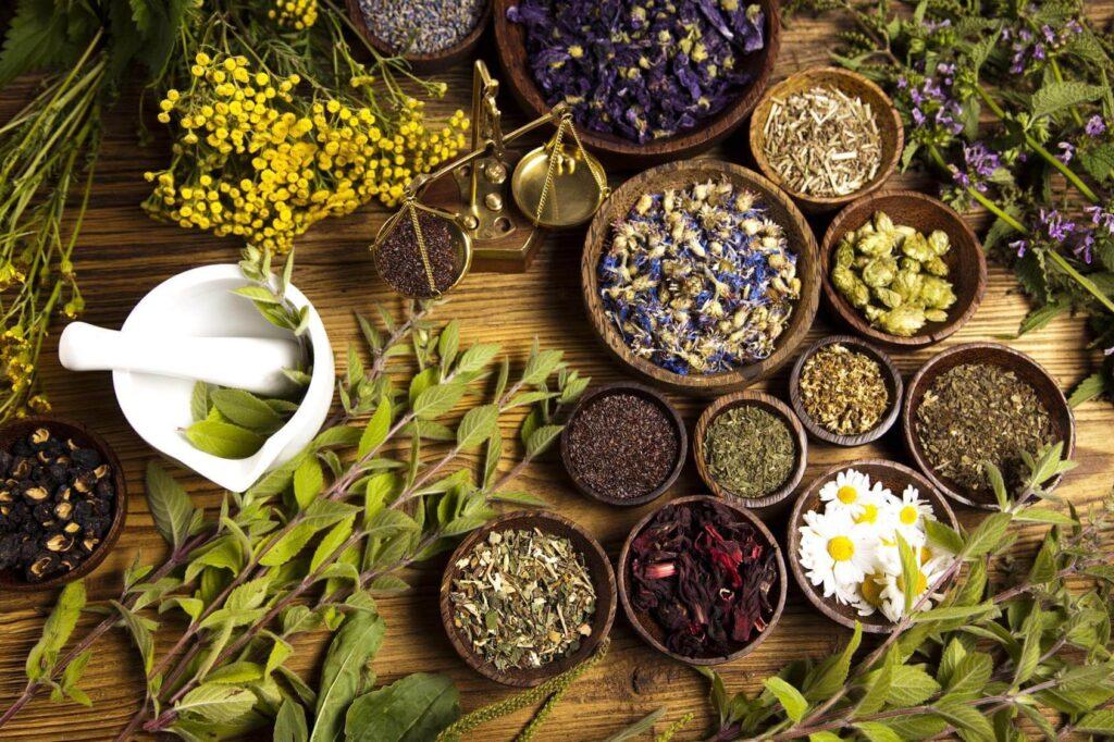 Spicy winter tea recipes.