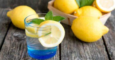 Lemon water recipe