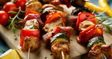 Barbecue Taste: Baked Chicken Shish Recipe