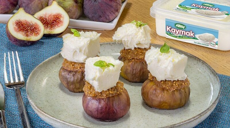 Figs at their Best Stuffed Figs with Cream Recipe